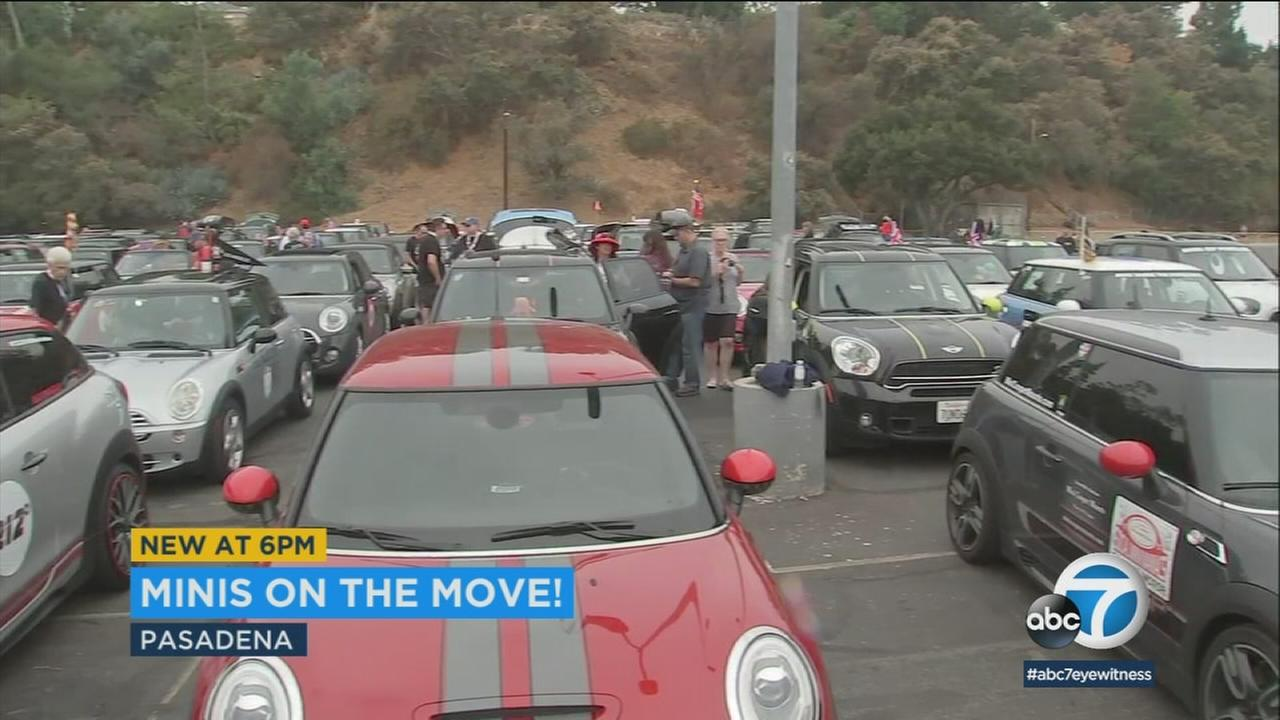 Hundreds of Mini drivers are riding for a good cause Tuesday - the caravans mission is to feed the hungry.