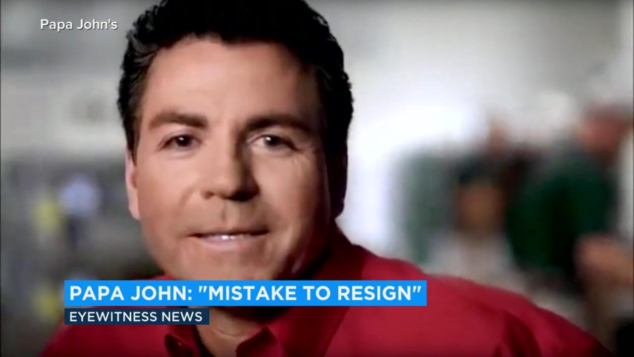 John Schnatter stepped down last week after admitting he used the n-word during a conference call earlier this year.