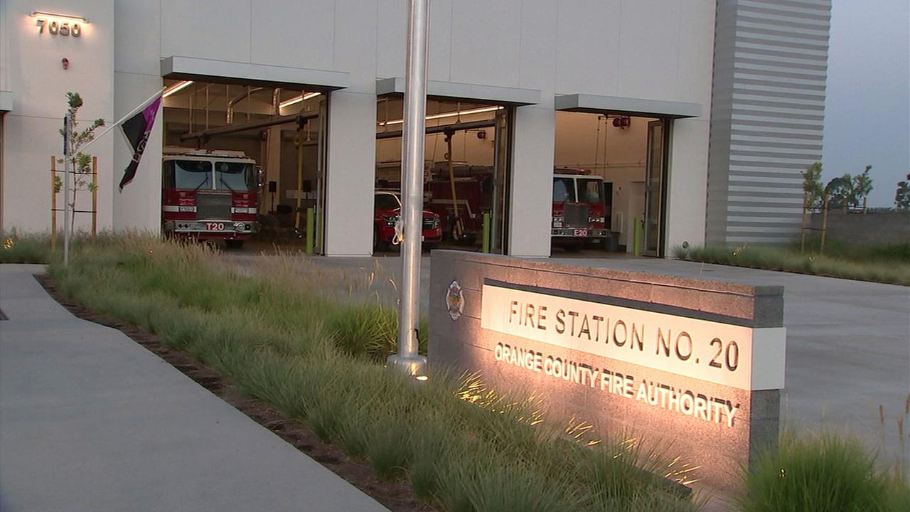 A new state-of-the-art fire station for the Orange County Fire Authority was unveiled in Irvine.