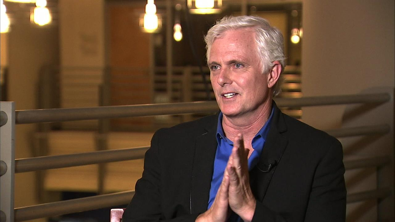 Actor Patrick Cassidy speaks to Eyewitness News in an interview.
