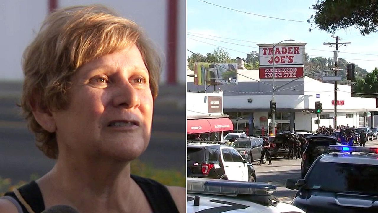 A mother of Trader Joes worker describes not hearing from her daughter in a Silver Lake hostage situation that left a woman dead on Saturday, July 21, 2018.