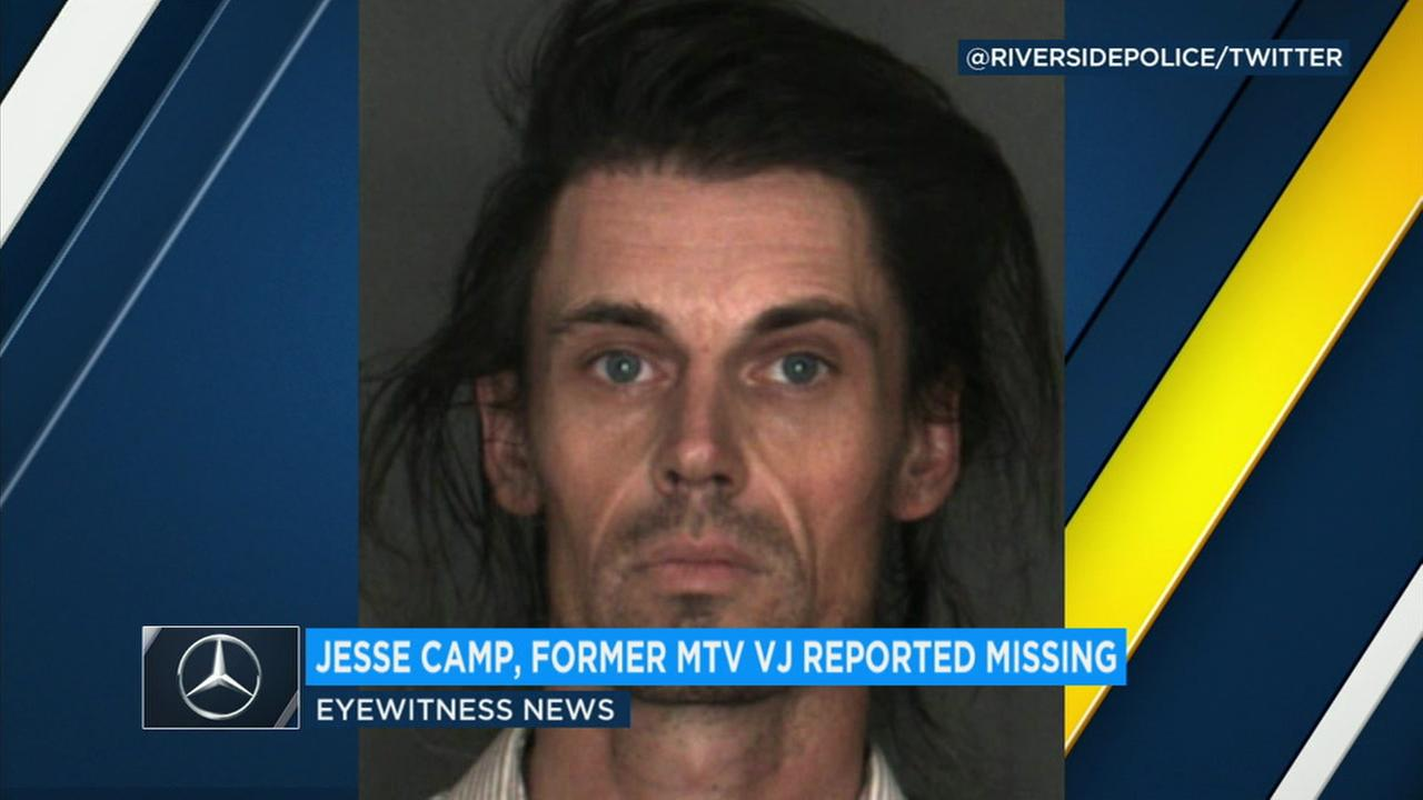 Jesse Camp, a well-known MTV VJ in the late 90s and early 2000s, is no longer considered missing after a report was filed by his sister last week.