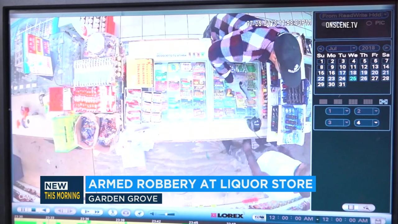According to police, the armed suspect had entered the store and removed a semi-automatic handgun from his waistband before demanding money from the clerk.