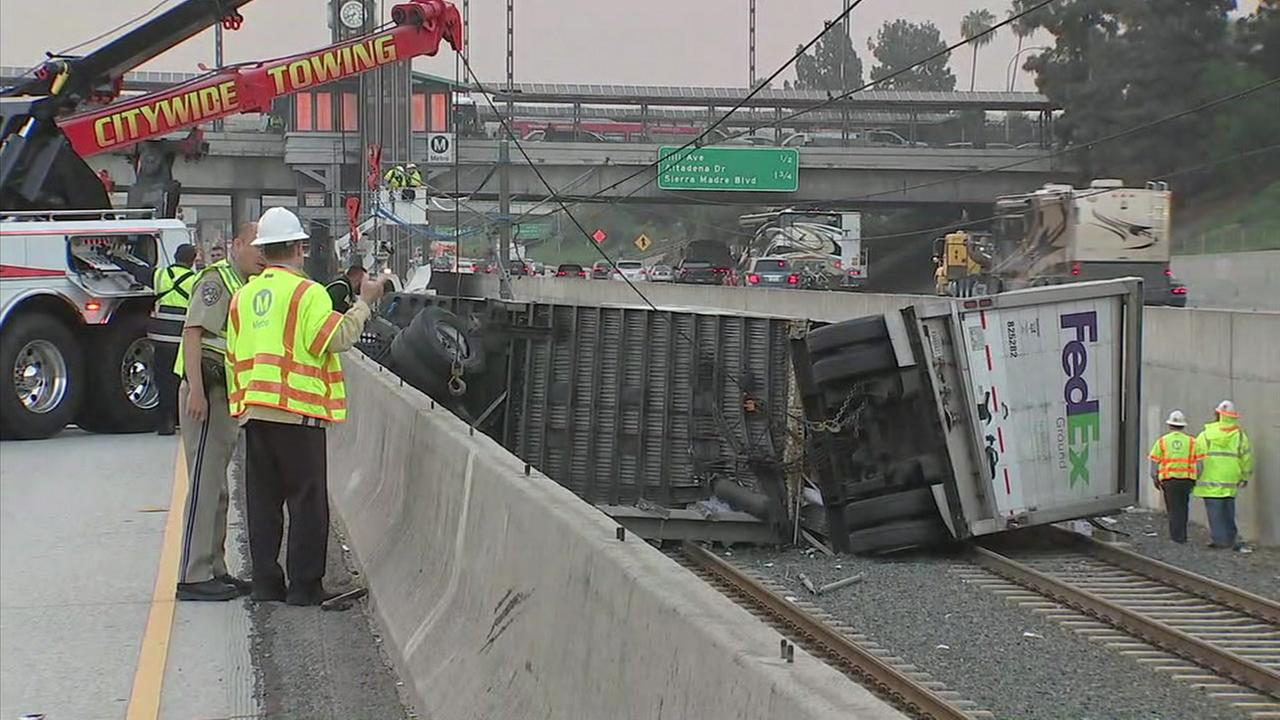 Los Angeles Metro has plans to install new concrete barriers in an effort to prevent traffic accidents from landing on the Gold Line tracks.