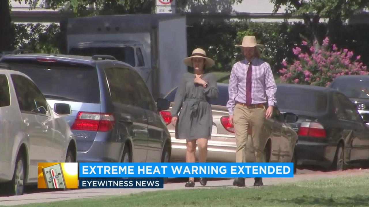 Temperatures are expected to soar well over 100 degrees in the valley areas Thursday and Friday.