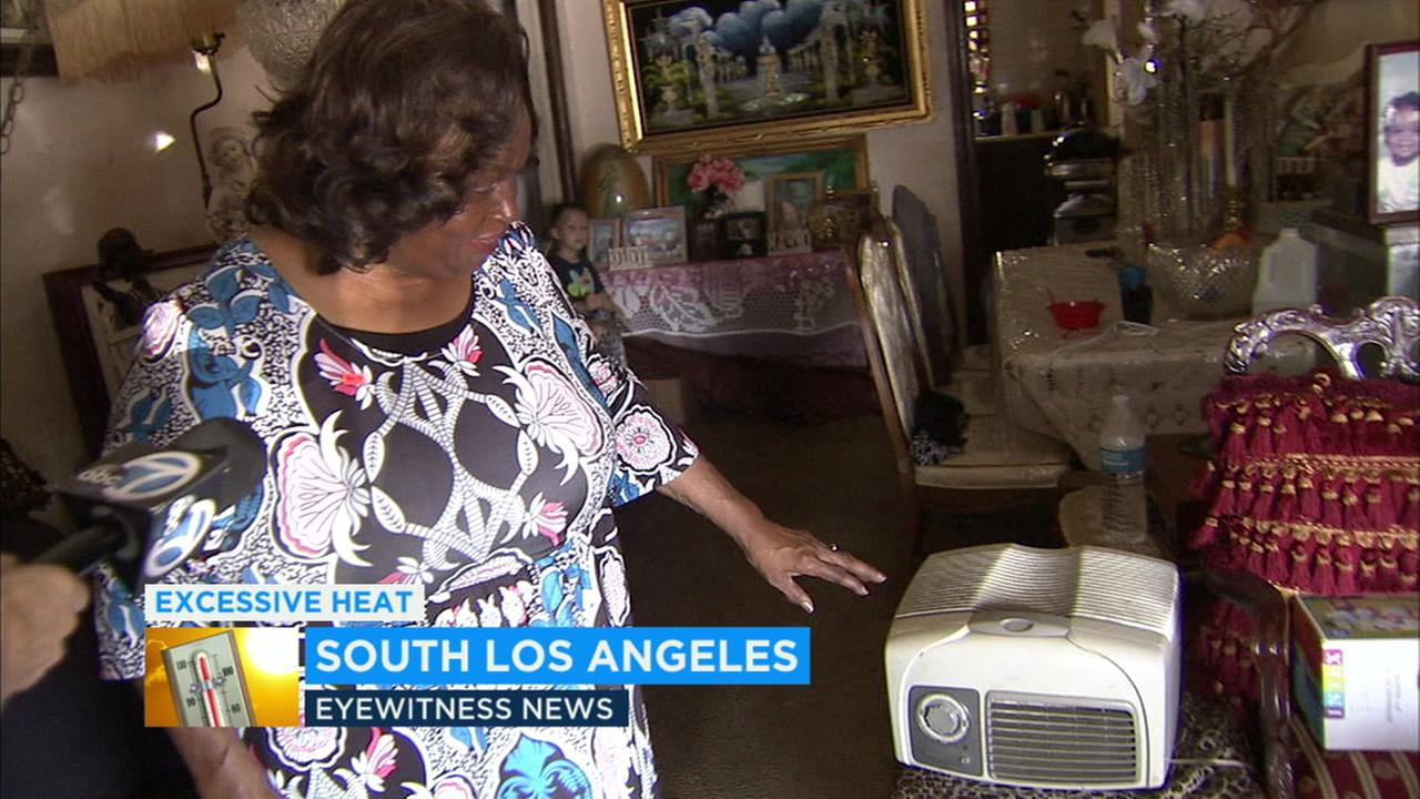 Carolyn Ledet has coped without air conditioning in South Los Angeles for her entire life.