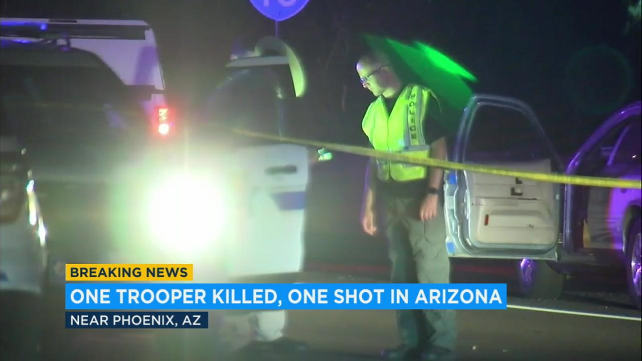 Rookie trooper Tyler Edenhofer, 24, was shot and killed during his last week of field training.