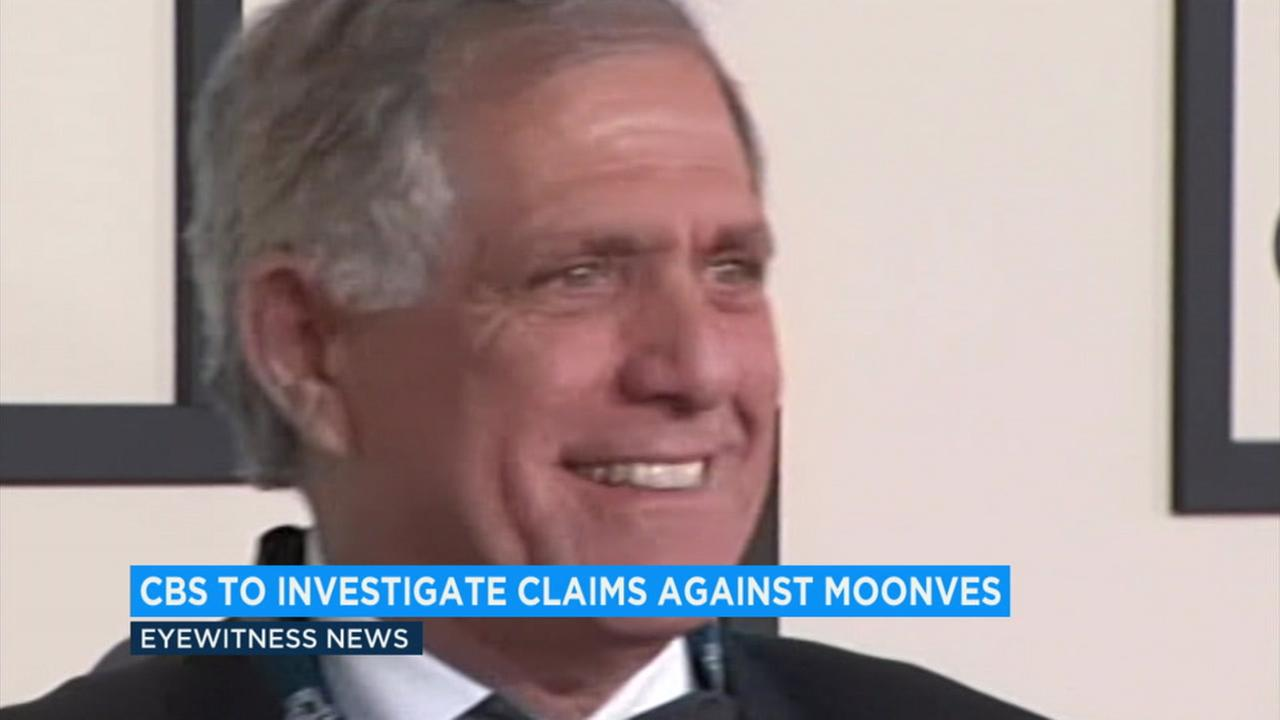 CBS is investigating sexual misconduct claims against the companys chief executive, Les Moonves.