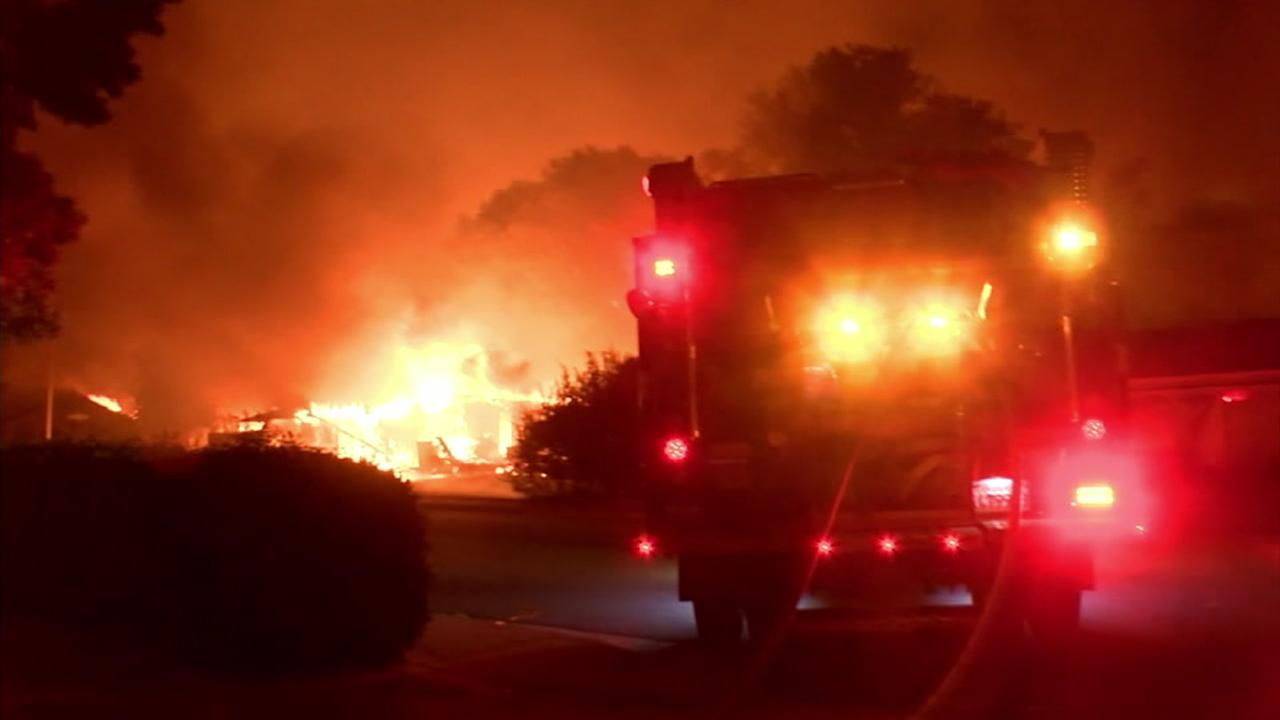 Firefighters continue to battle the devastating Carr Fire in Shasta County.