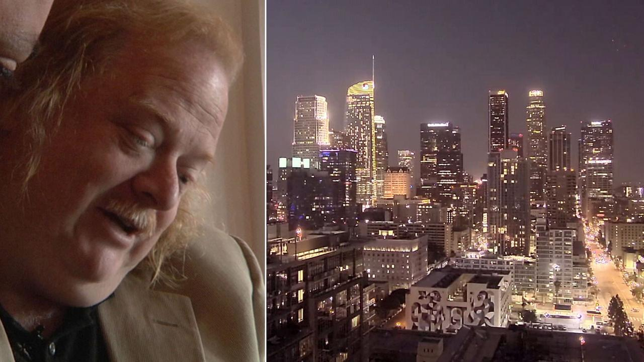 Landmarks across the Los Angeles area were glowing gold Saturday night in honor of the late Pulitzer Prize-winning food critic Jonathan Gold.