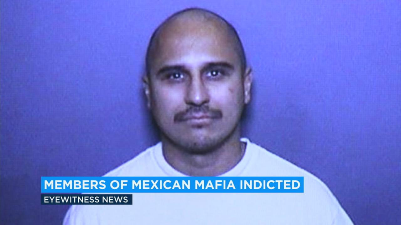 Authorities announced new charges Monday against the man known to be the head of the Mexican Mafia in Orange County.