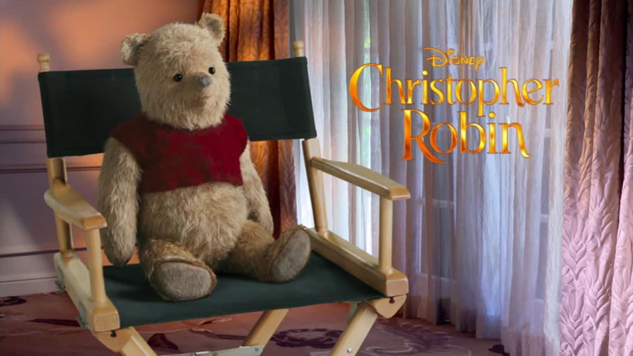 Winnie the Pooh spoke about the making of Christopher Robin.