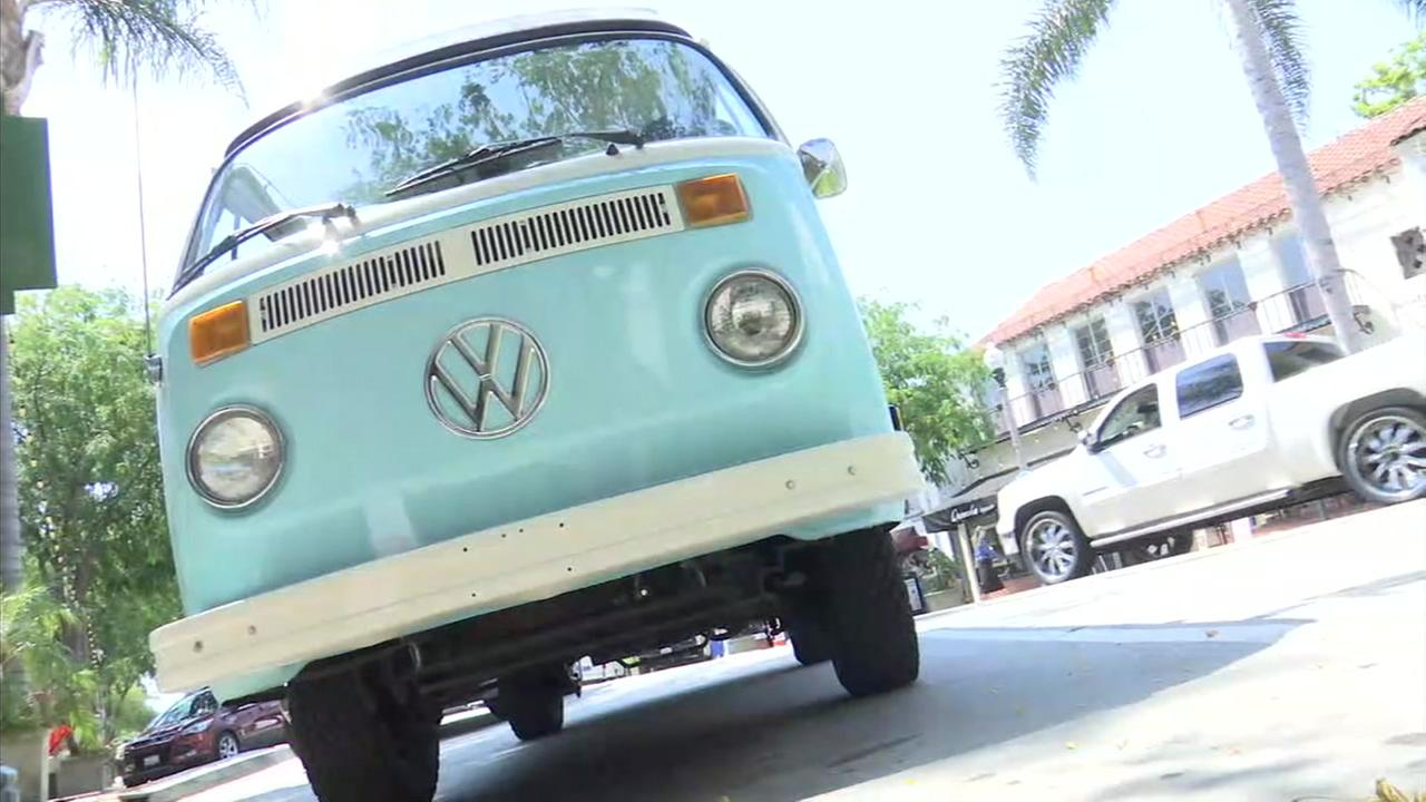 Known as the Treffen, the 1,200-mile journey from the Canadian border down to the Mexican border along Highway 1 in vintage Volkswagens has become a tradition going on two decades.