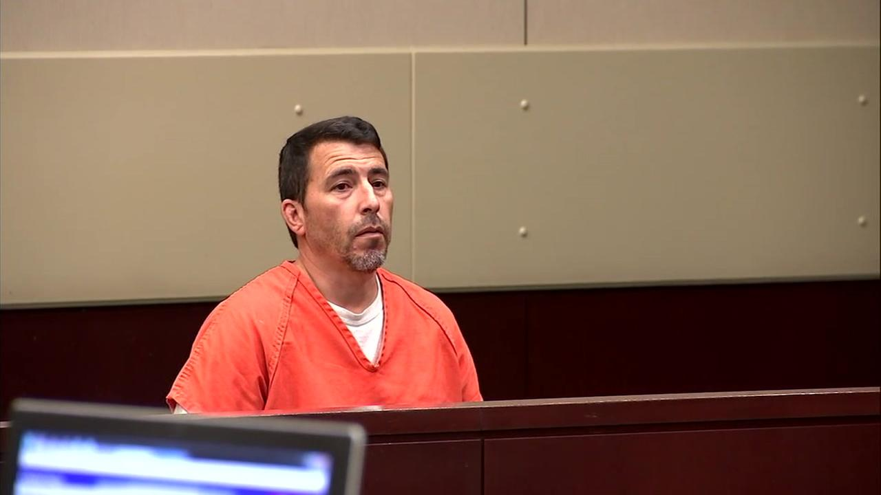 Victor Monteiro, 45, is shown during his first court appearance over sexual assault allegations.