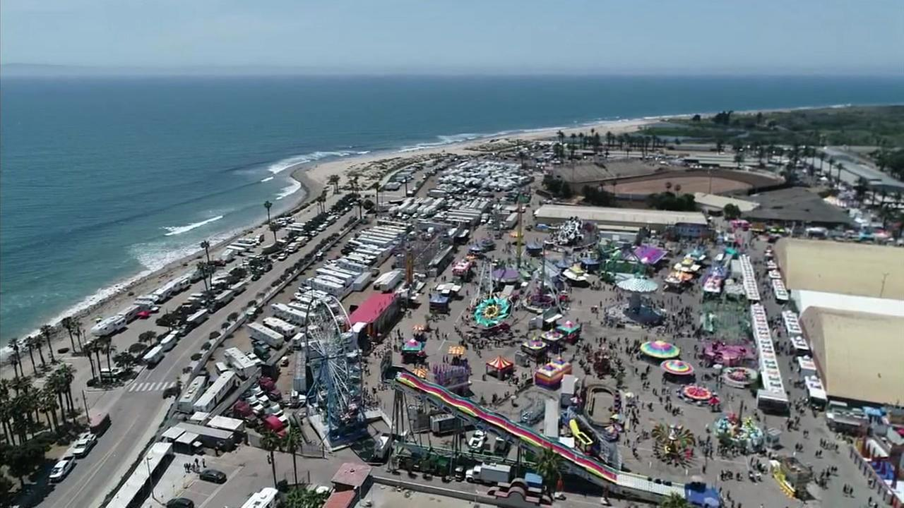 Featuring rides, music and deep-fried food, its branded as a country fair with ocean air.