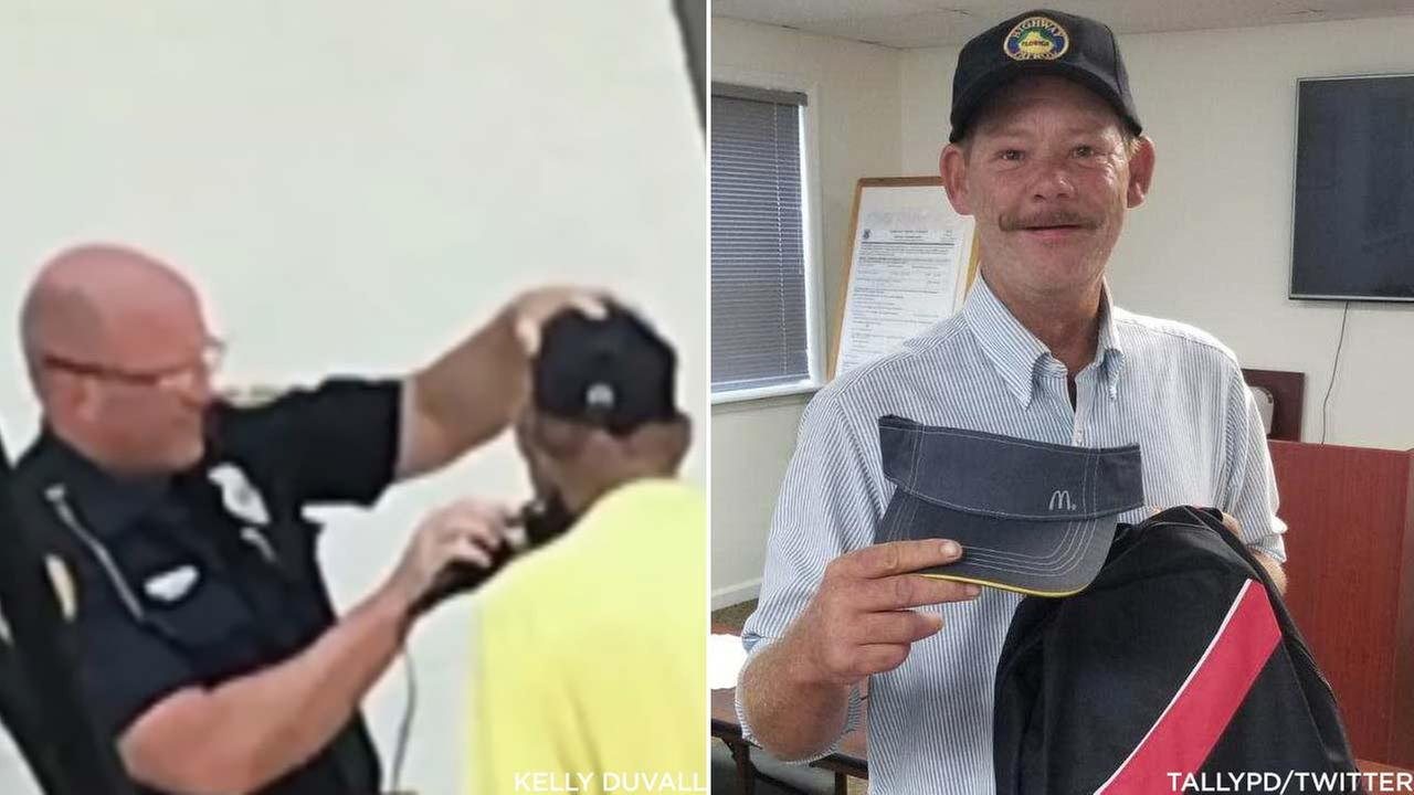 A Florida police officer was captured on video helping a homeless man shave for a job interview. That man ended up getting the job!