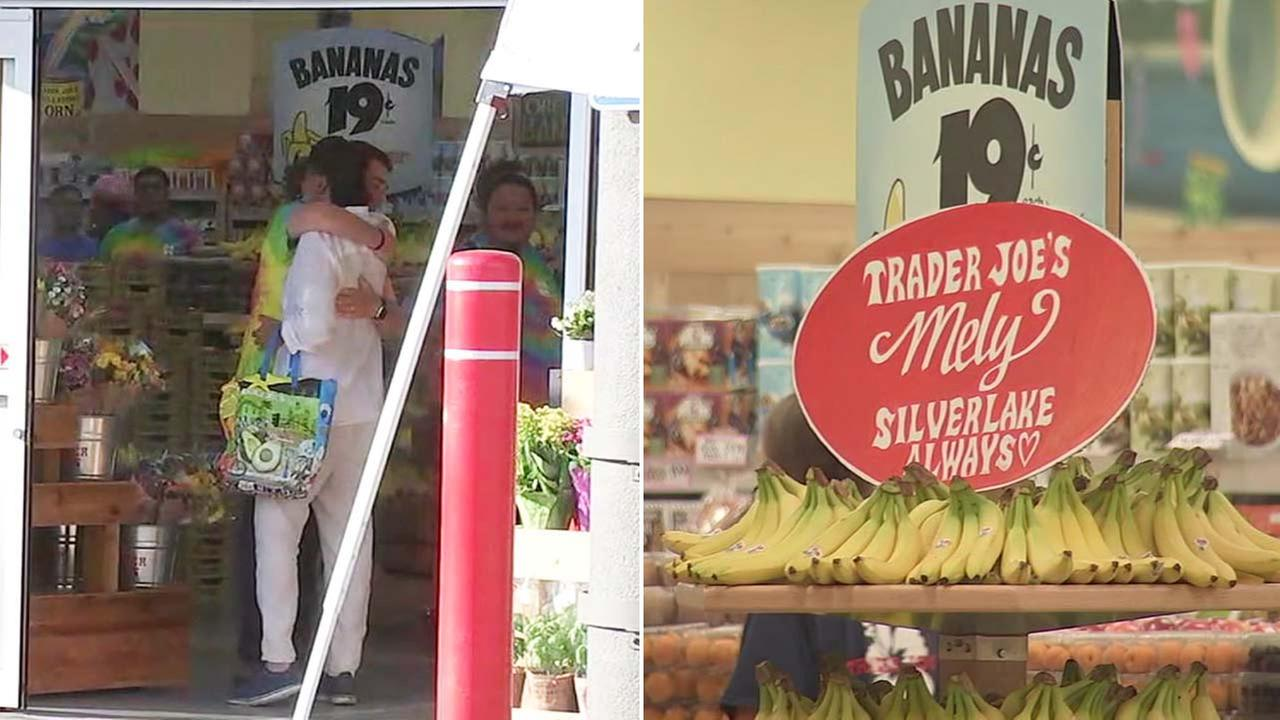 The Silver Lake Trader Joes market reopened on Thursday, Aug. 2, 2018.