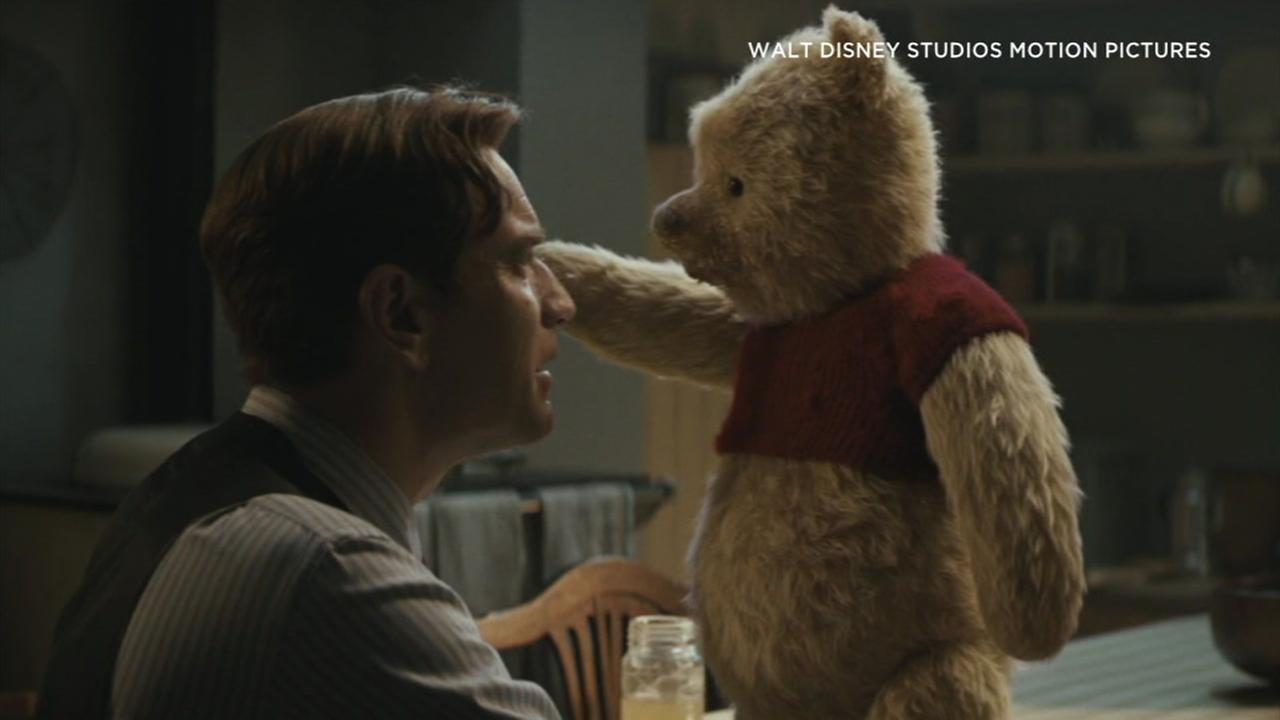 The new movie Christopher Robin brings Winnie the Pooh and his pals from the 100-acre wood to life on the big screen.