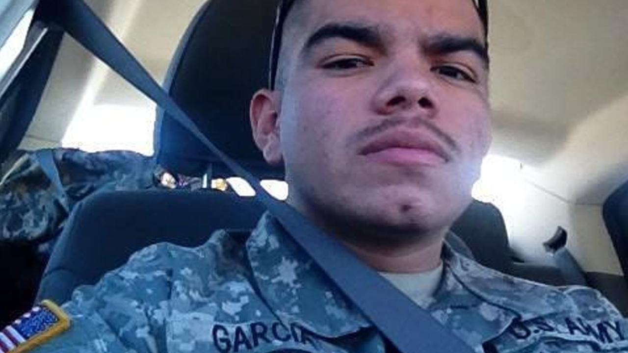 Francisco Garcia is seen in this undated file photo. The Army veteran was shot and killed at a party in Sylmar on Sunday, Nov. 9, 2014.