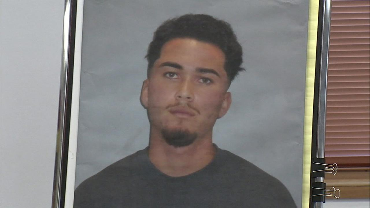 Davis Moreno-Jaime, 19, is shown in a photo provided during a press conference at CSUN held by authorities.