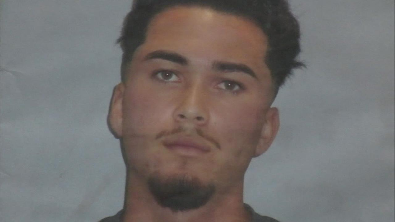 Davis Moreno-Jaime, 19, is shown in a photo during a press conference regarding his arrest at Cal State University, Northridge.