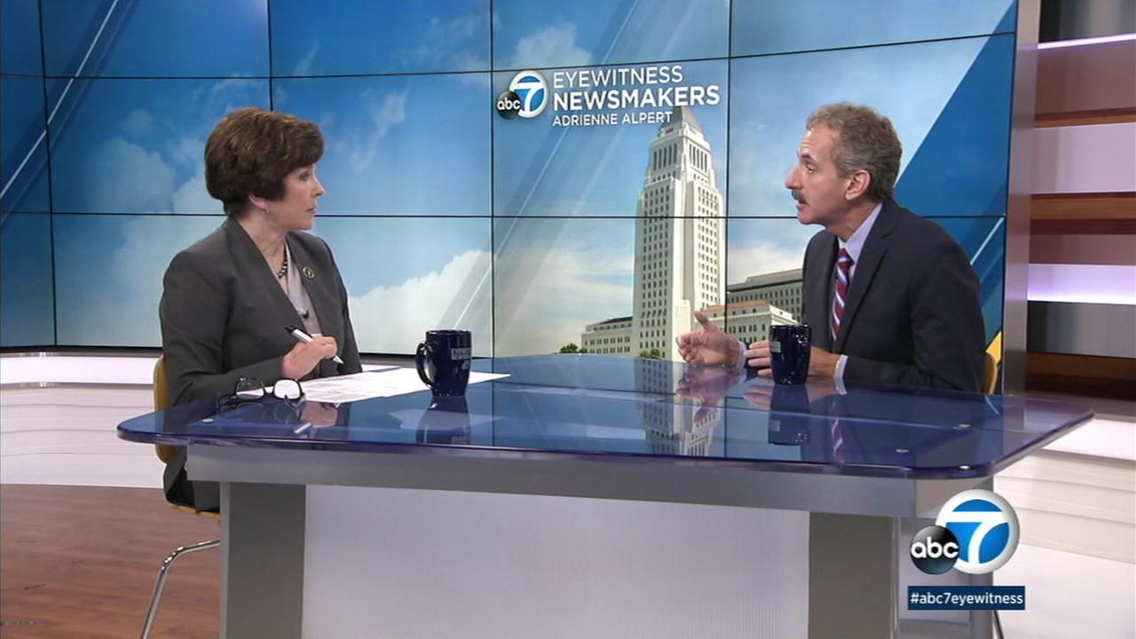 On Eyewitness Newsmakers, L.A. City Attorney Mike Feuer talked about the preliminary report from his Blue Ribbon Panel on School Safety.