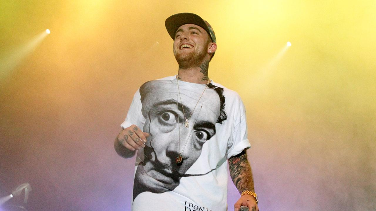 Rapper Mac Miller performs on his Space Migration Tour at Festival Pier on Saturday, July 13, 2013, in Philadelphia.