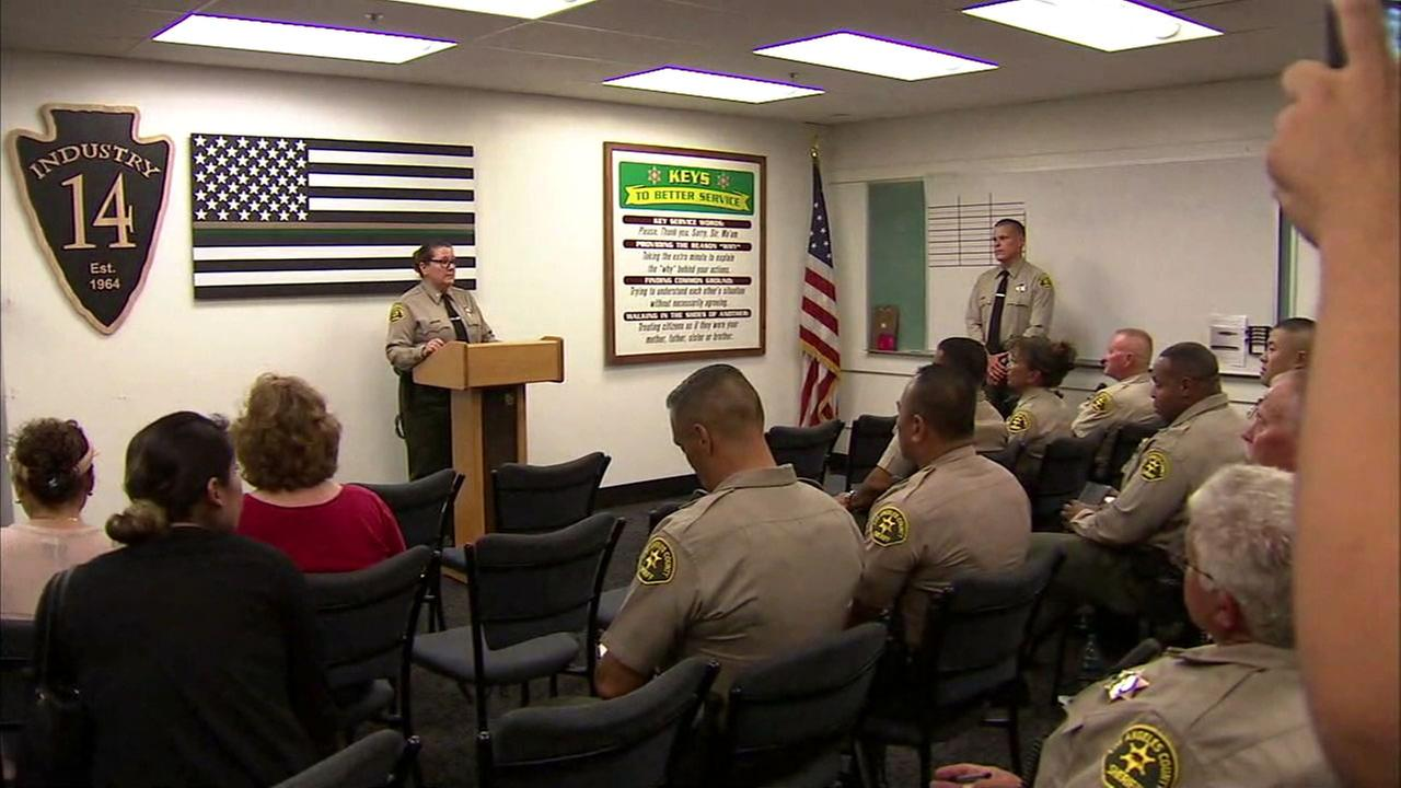 The Los Angeles County Sheriffs Department on Friday announced new plans for its Reserve Impact Team, a task force made up of civilians who trained to work as part-time deputies.