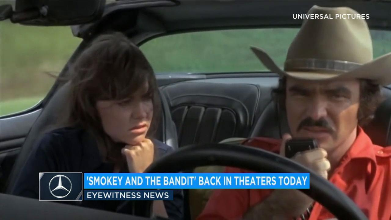 Starting today, 240 AMC theaters will be showing Smokey and the Bandit in honor of the late Burt Reynolds until Sept. 20.