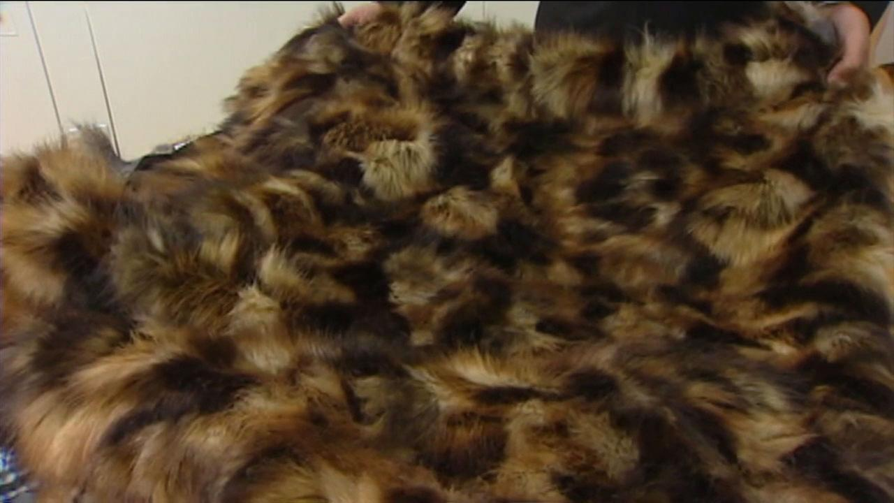 A blanket of animal fur is shown in a photo.