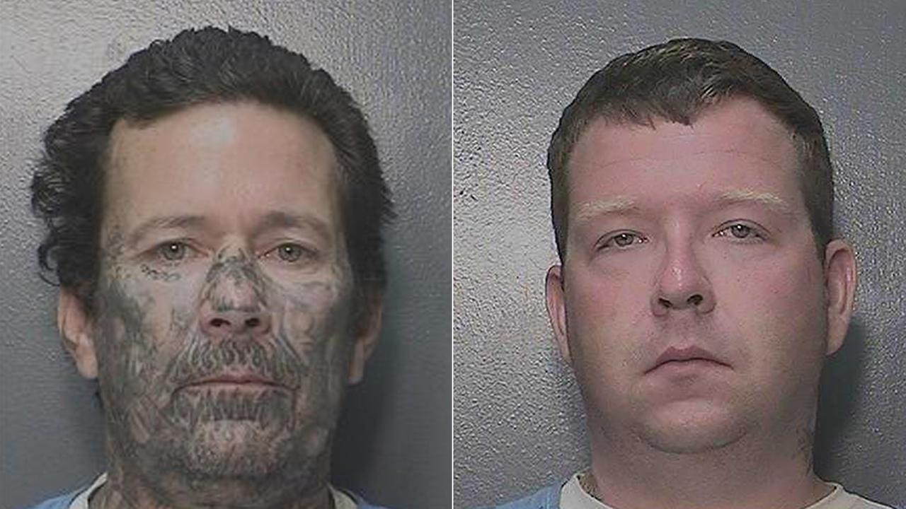 California Department of Corrections officials are searching for two men who walked away from a halfway house in Los Angeles.