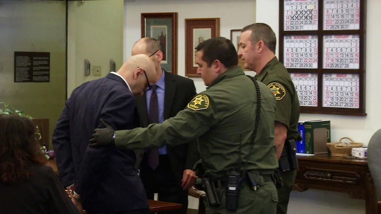 Serial Killer Andrew Urdiales is seen in court the day he was sentenced to death for the murders of five women in Southern California.