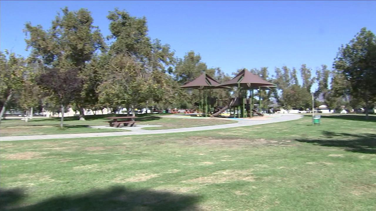 Devonwood Park in Mission Hills is shown in a photo.