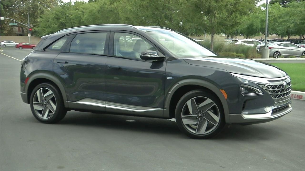 The 2019 Hyundai NEXO.
