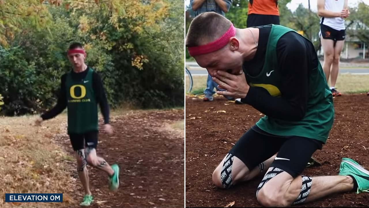 Justin Gallegos is the first athlete with cerebral palsy to sign with Nike.
