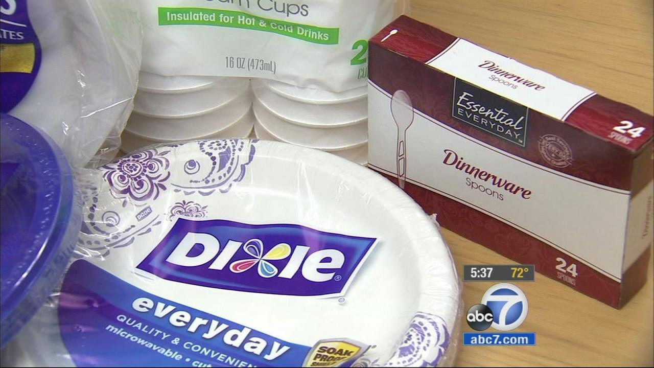 Toxins in foam cups paper plates can be spread during pregnancy experts say | abc7.com & Toxins in foam cups paper plates can be spread during pregnancy ...