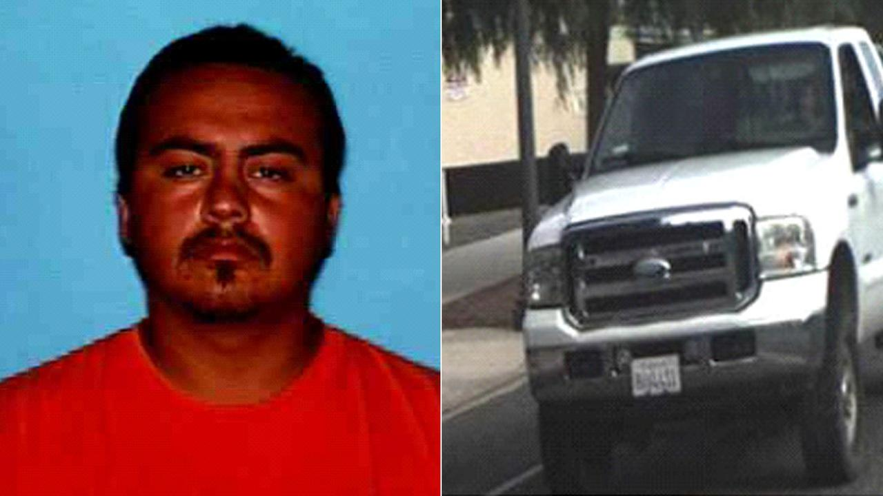 Deputies released these photos of Juan Hernandez Soria and the vehicle he was believed to be driving.