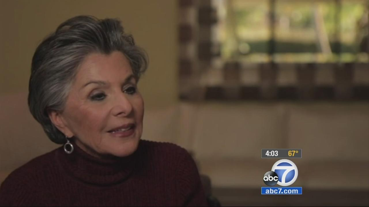 Sen. Barbara Boxer makes an announcement that she will retire in an unusual video in which she answered questions posed by her grandson, Zach Rodham.