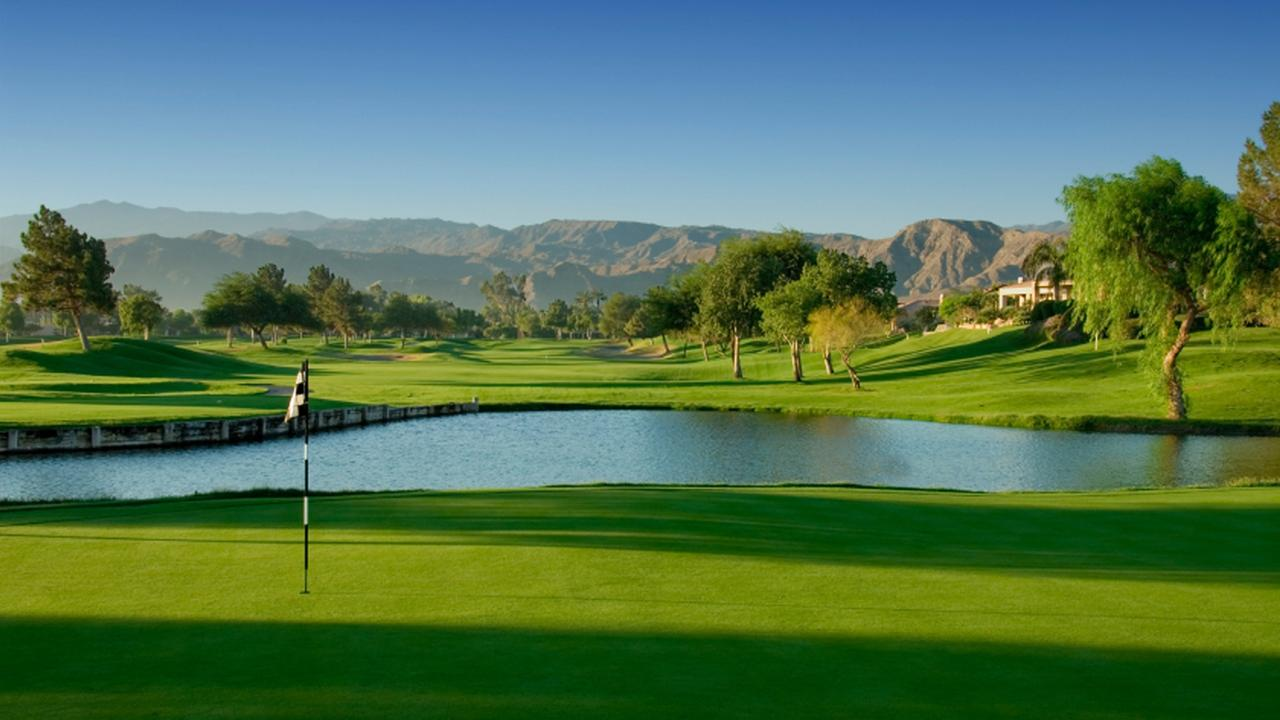 A golf course in Palm Springs is shown in this undated file photo.