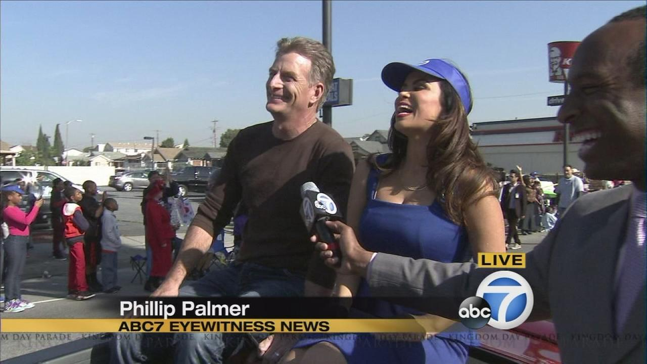 VIDEO ABC7 Team Takes Part In Kingdom Day Parade
