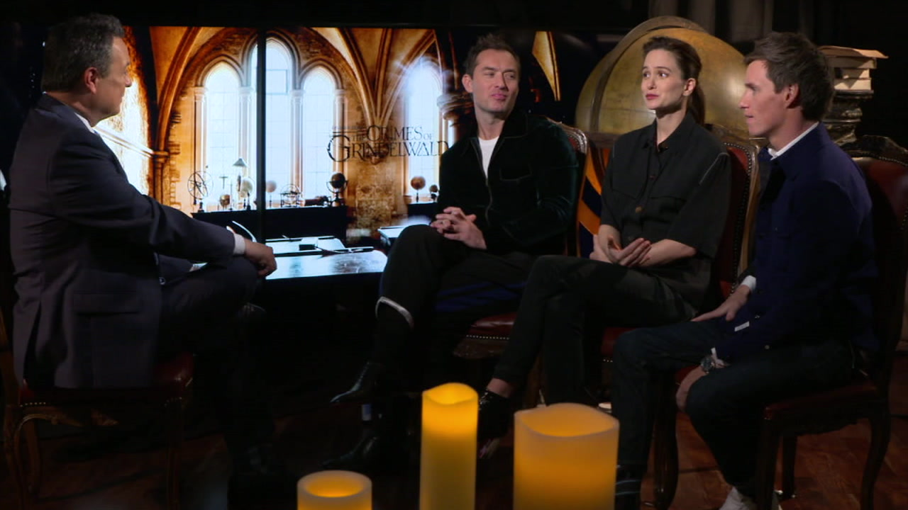 Jude Law and Eddie Redmayne bring some big-screen movie magic to life with Fantastic Beasts: The Crimes of Grindelwald.