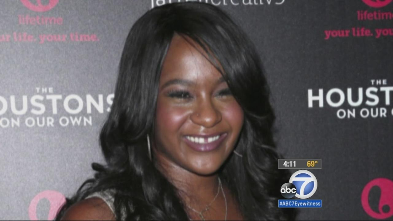 Bobbi Kristina Brown, shown above, was transferred to a new hospital in Georgia on Tuesday,