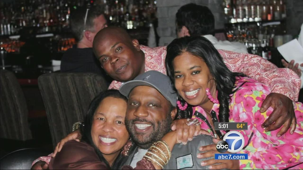 Terry Carter is seen with family in this undated photo.