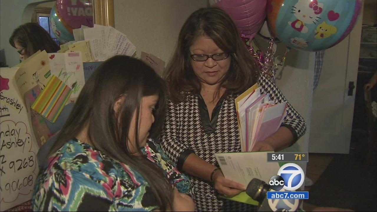 Ashley Diaz is turning 25 years old. Her mother wants 2,500 birthday cards to celebrate the young woman with Down syndrome.
