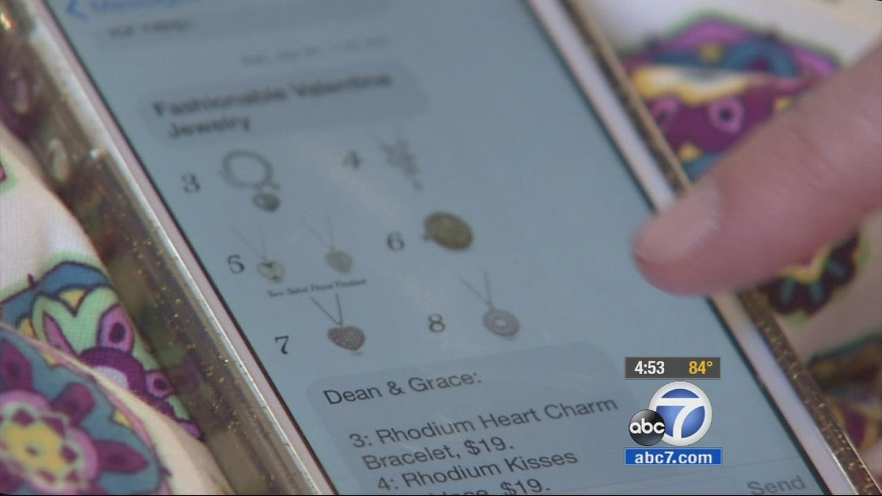 Two local mothers combine shopping and text messaging, two things they love, into a successful business venture.