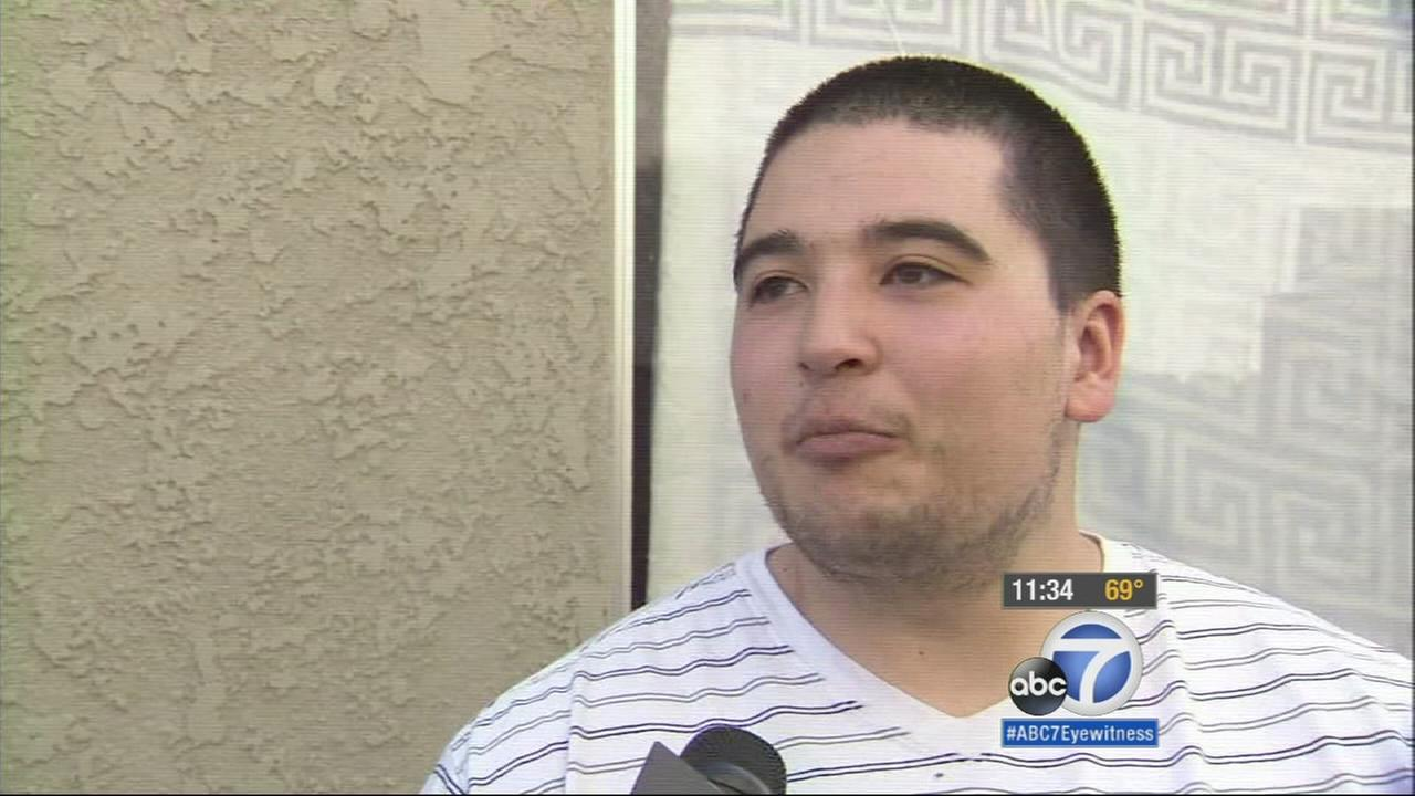 Torrance resident Daniel Wolfe talks to Eyewitness News on Wednesday, Feb. 18, 2015.