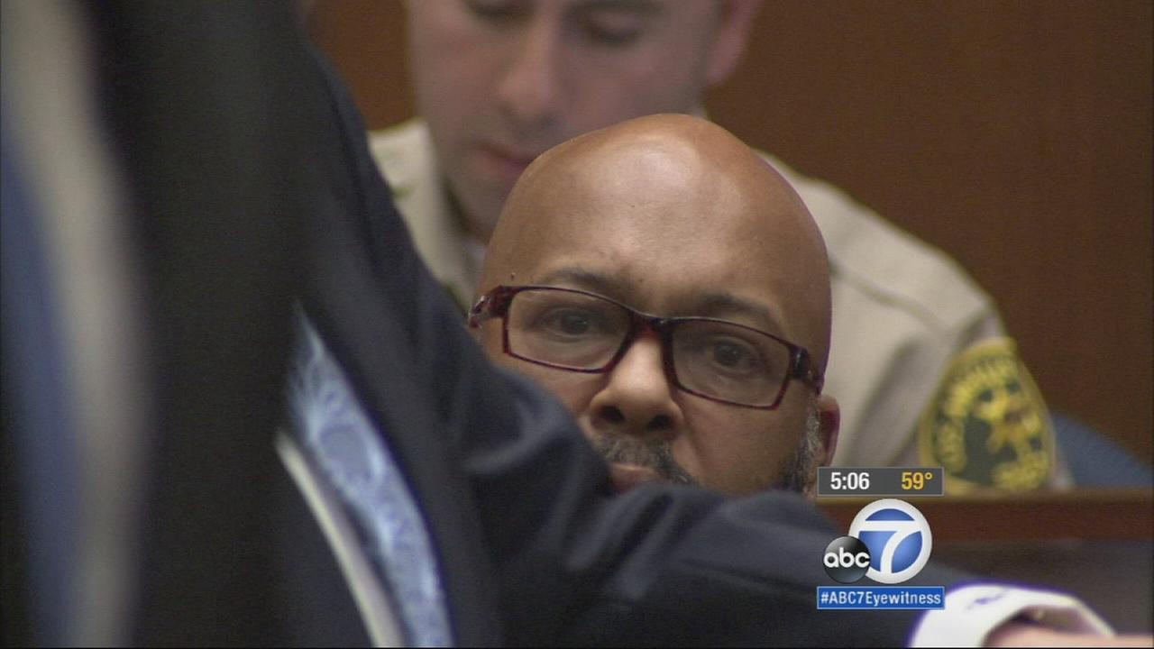 Suge Knight, co-founder of Death Row Records, was hospitalized again after appearing in court Monday.