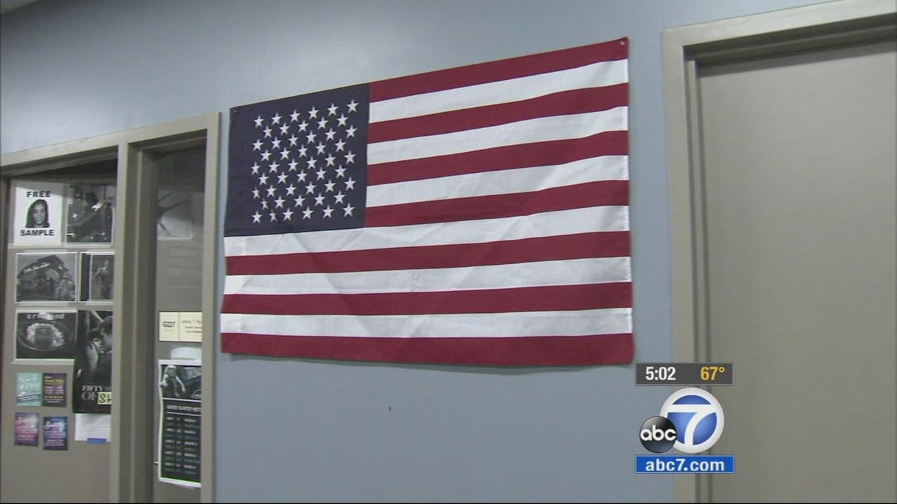 A Republican senator in Orange County is getting involved in the controversy after a UC Irvine student council vote banned flags, including the American flag, from the school lobby.