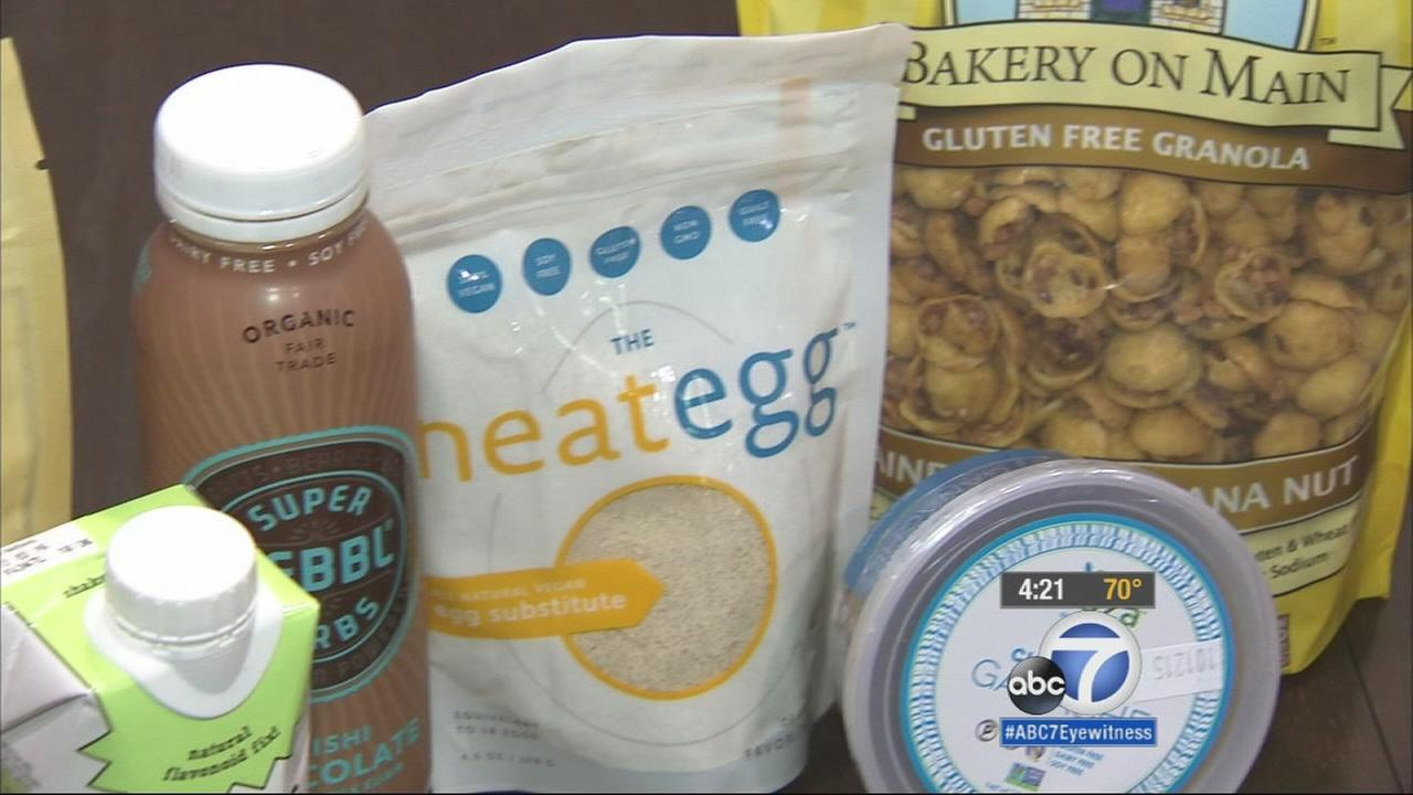 The 35th annual natural product expo showcased the latest in organic, gluten-free and non-gmo products.