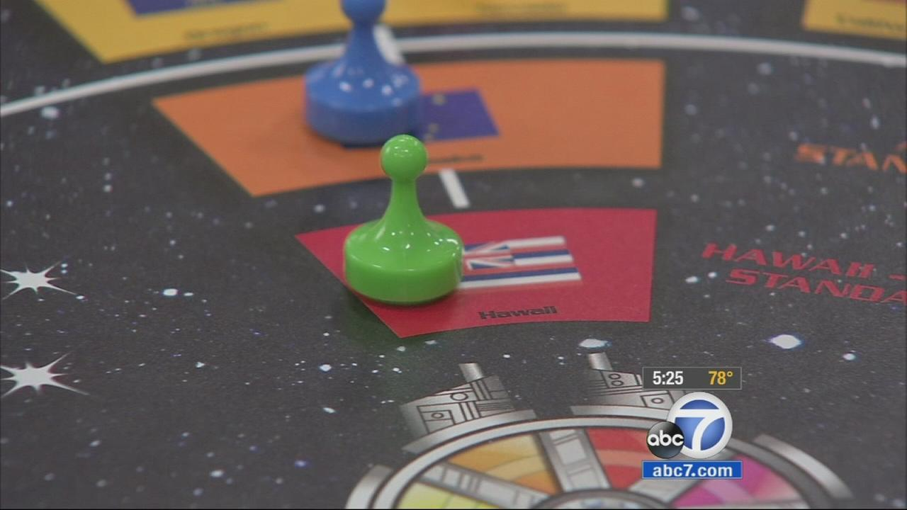 A father and son created a board game called Earth Encounters, which is garnering national attention.